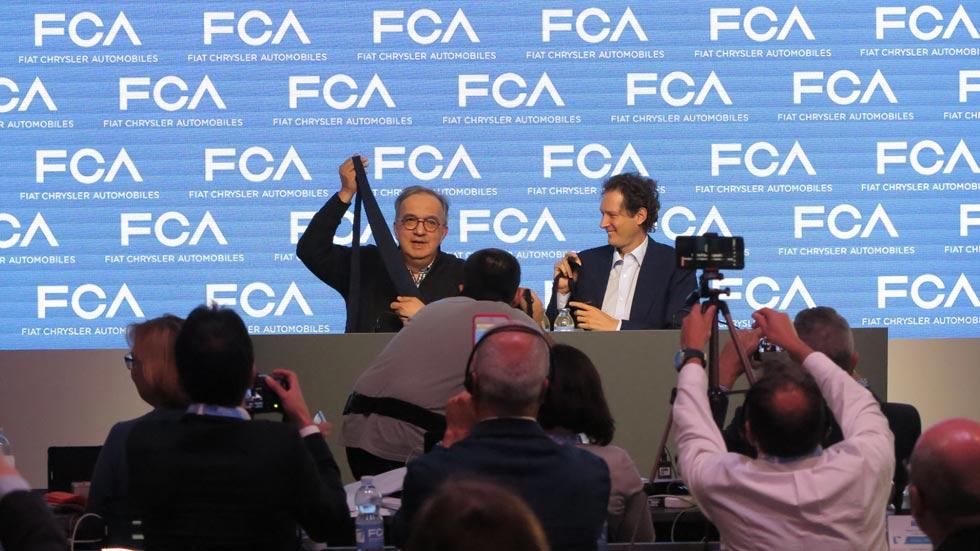 Marchionne tiene un plan para FCA (2018-2022)