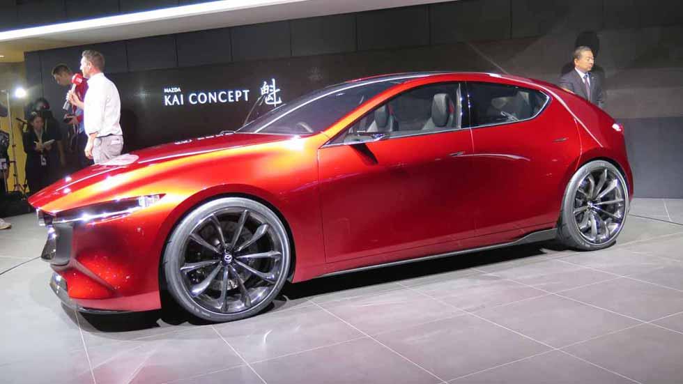 Mazda3 2019: el nuevo y revolucionario compacto llegará a final de año
