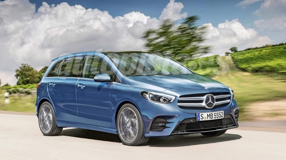 Mercedes Clase B 2019: así será el nuevo familiar