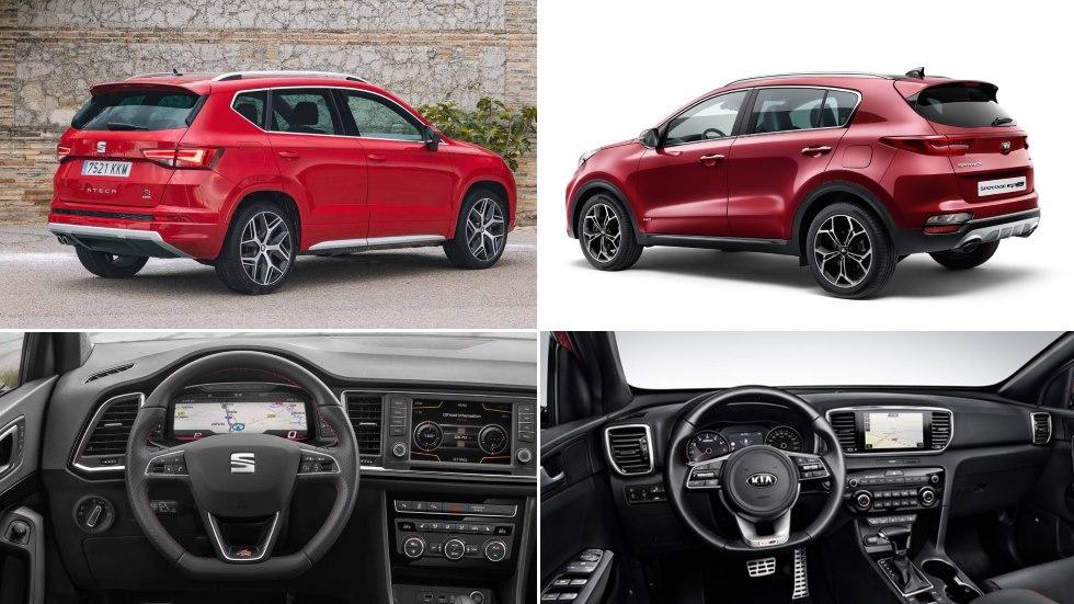Kia Sportage 2018 vs Seat Ateca: duelo entre dos grandes SUV renovados