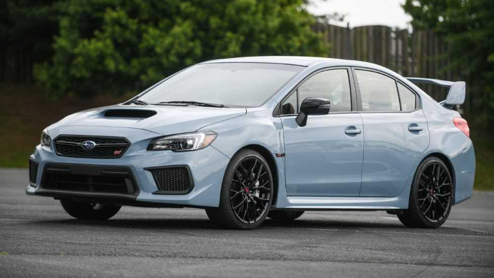 Subaru WRX y WRX STI Series: ediciones limitadas 2019