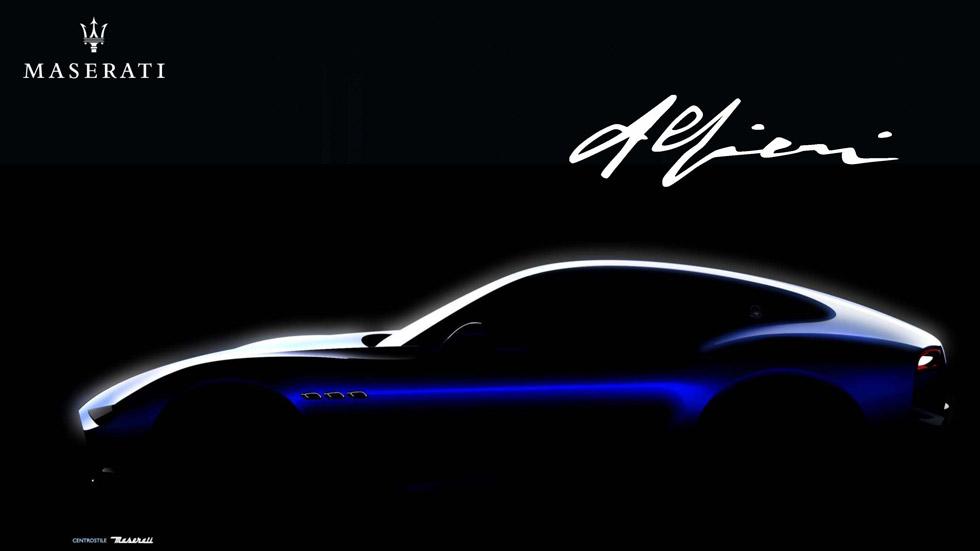 """Maserati Alfieri: un tridente """"trifásico"""" como rival de Tesla y Porsche"""