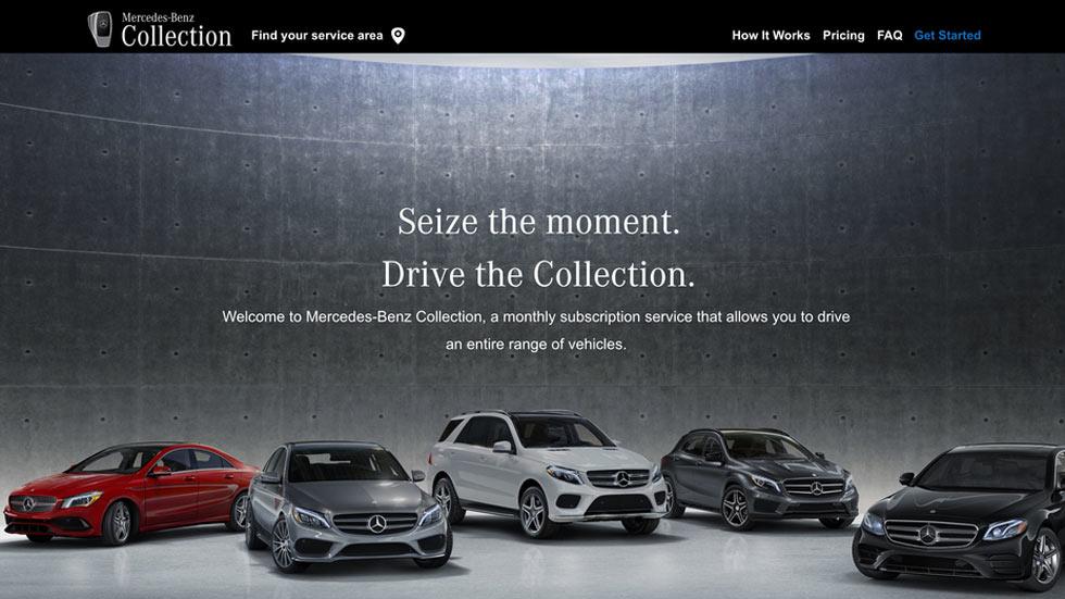 Mercedes-Benz Collection: así te puedes suscribir a sus coches