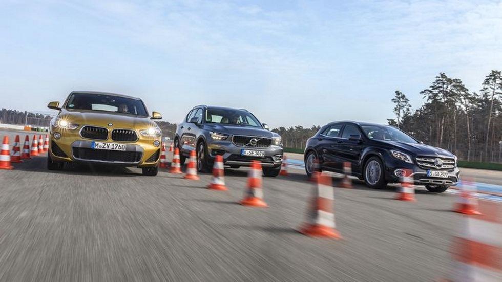 BMW X2 vs Mercedes GLA vs Volvo XC40: el mejor SUV compacto, en juego
