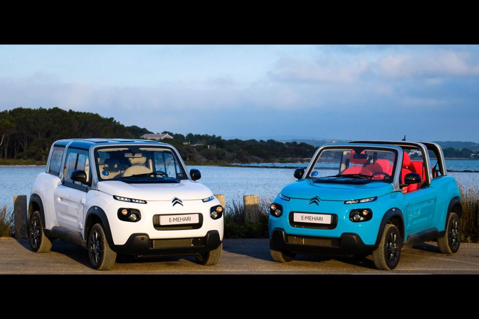 A prueba el nuevo Citroën e-Mehari 2018 eléctrico: ahora, con techo rígido