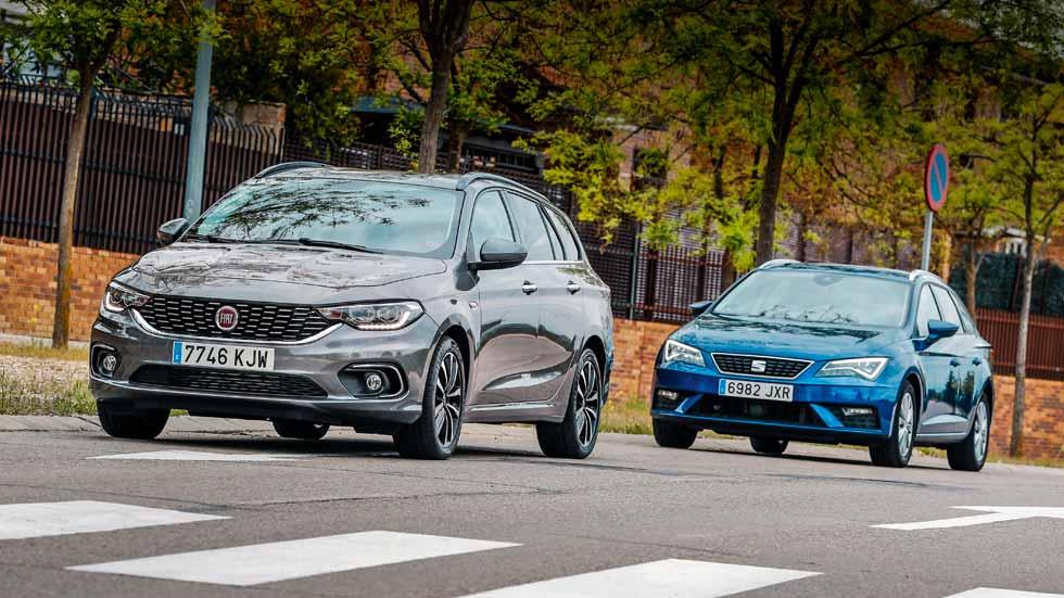 Fiat Tipo GLP vs Seat León GNC: ¿qué tipo de coche de gas interesa más?