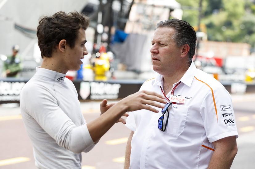 GP de Canadá de F1: Norris quiere ser piloto de F1 cuanto antes