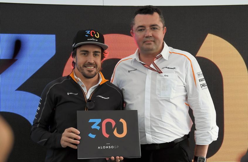 Alonso celebra este fin de semana en Canadá su Gran Premio número 300