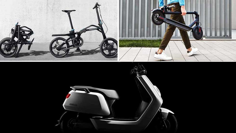 7 alternativas eléctricas al coche: eBikes, eScooters, patinetes…