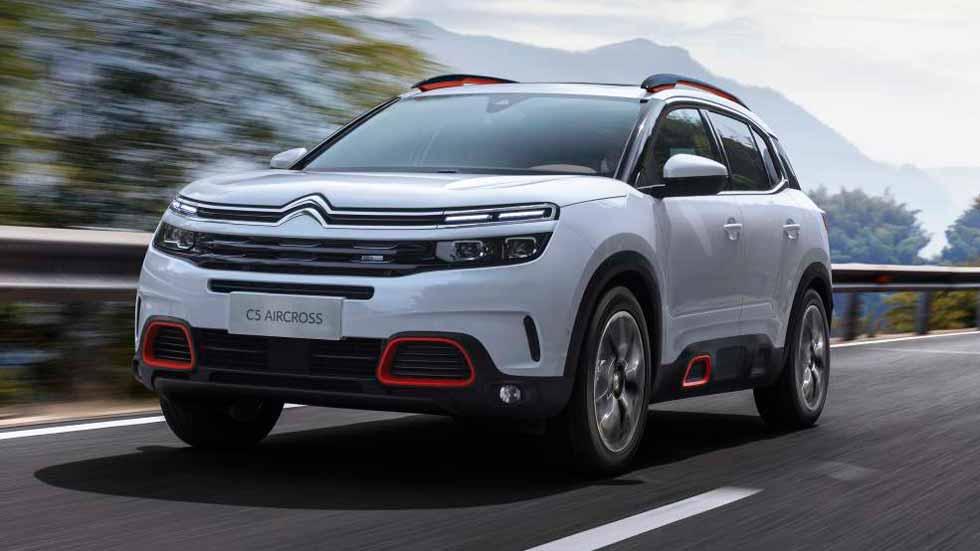 El SUV Citroën C5 Aircross tendrá versión híbrida enchufable