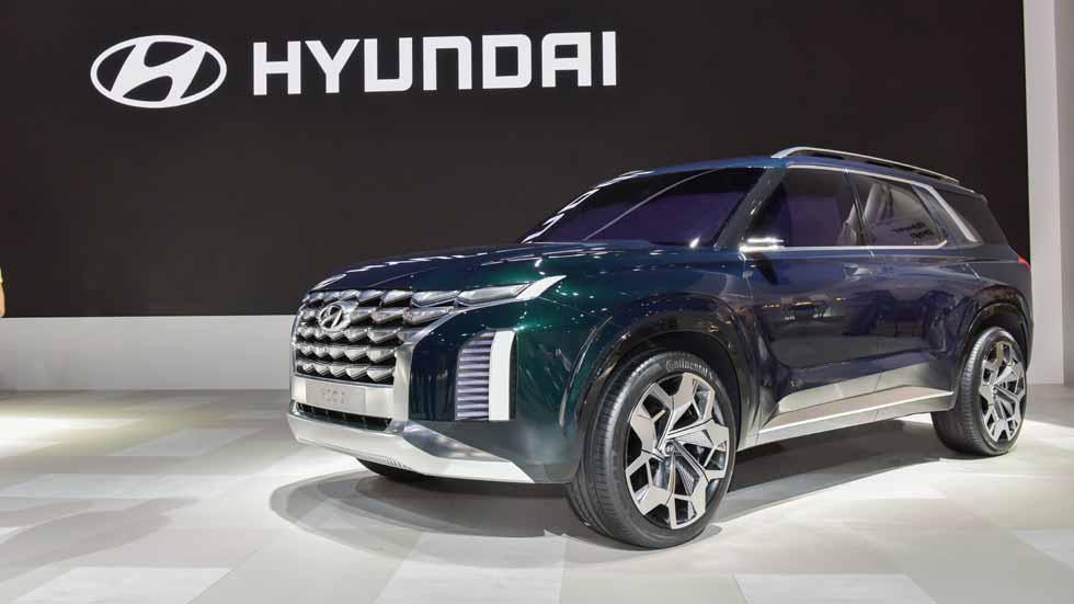 Hyundai HDC-2 Grandmaster: ¿el próximo gran SUV hermano del Tucson y del Santa Fe?