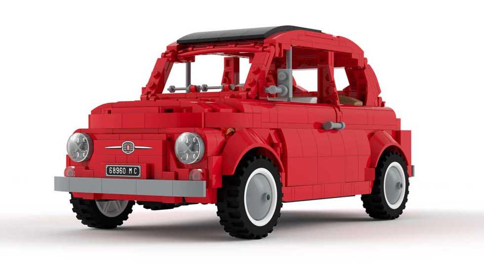 El Fiat 500 clásico de Lego puede hacerse realidad