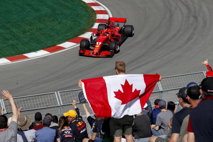 GP de Canadá de F1 (Q): Vettel destrona a Hamilton