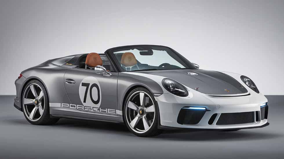 Porsche 911 Speedster Concept: un 70 aniversario muy especial con más de 500 CV