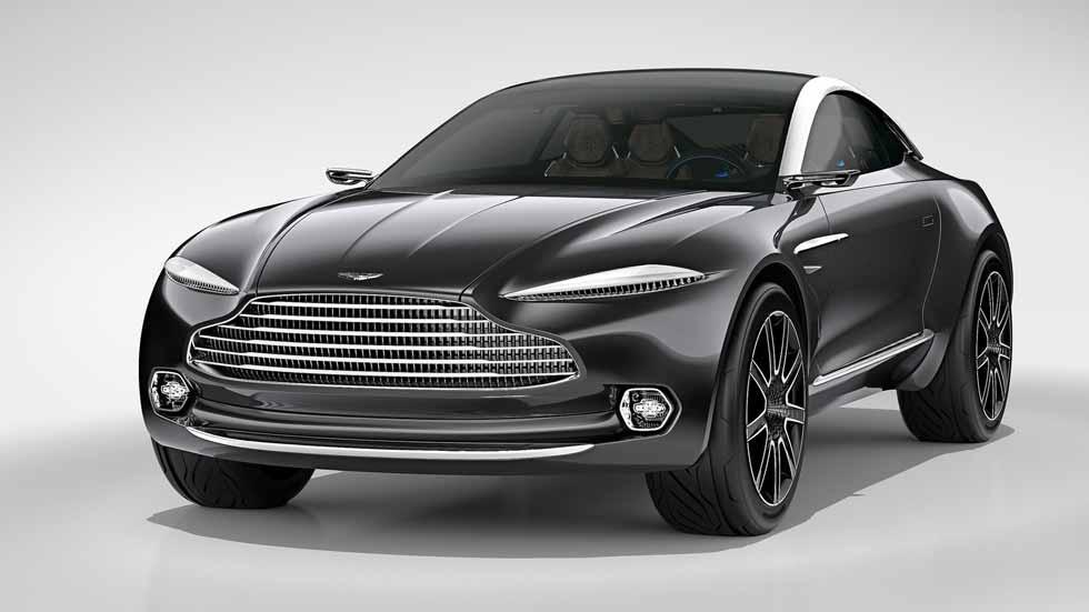 Aston Martin DBX: el nuevo SUV a todo lujo, en 2019