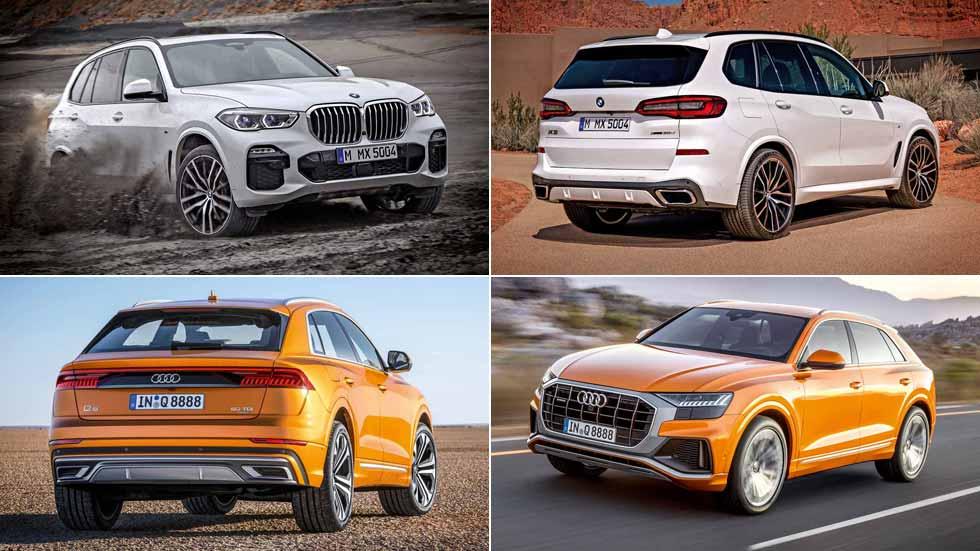 Revista Autopista 3058: al detalle los nuevos BMW X5 y Audi Q8, dos SUV colosales