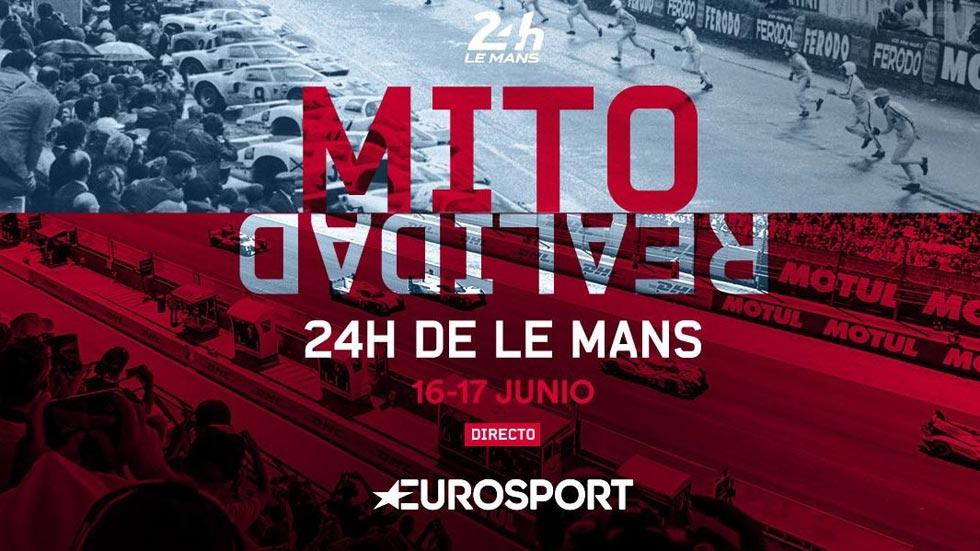 24 Horas de Le Mans: 38 horas de programación en Eurosport esta semana