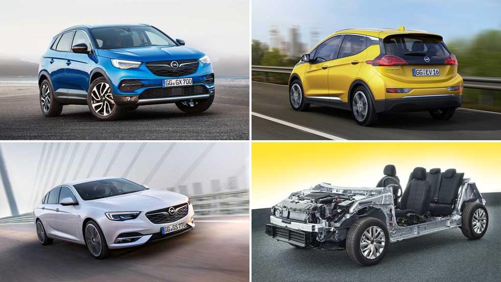 Estos serán los nuevos Opel: Corsa eléctrico, Grandland X híbrido plug-in…