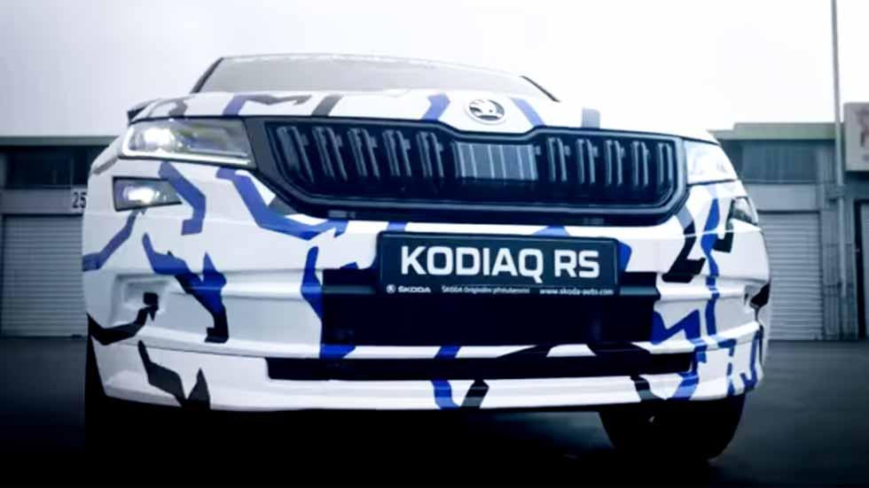 Skoda Kodiaq RS: así es el nuevo SUV deportivo, en VÍDEO