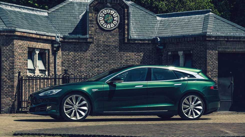 Tesla Model S Shooting Brake: así el Tesla más familiar