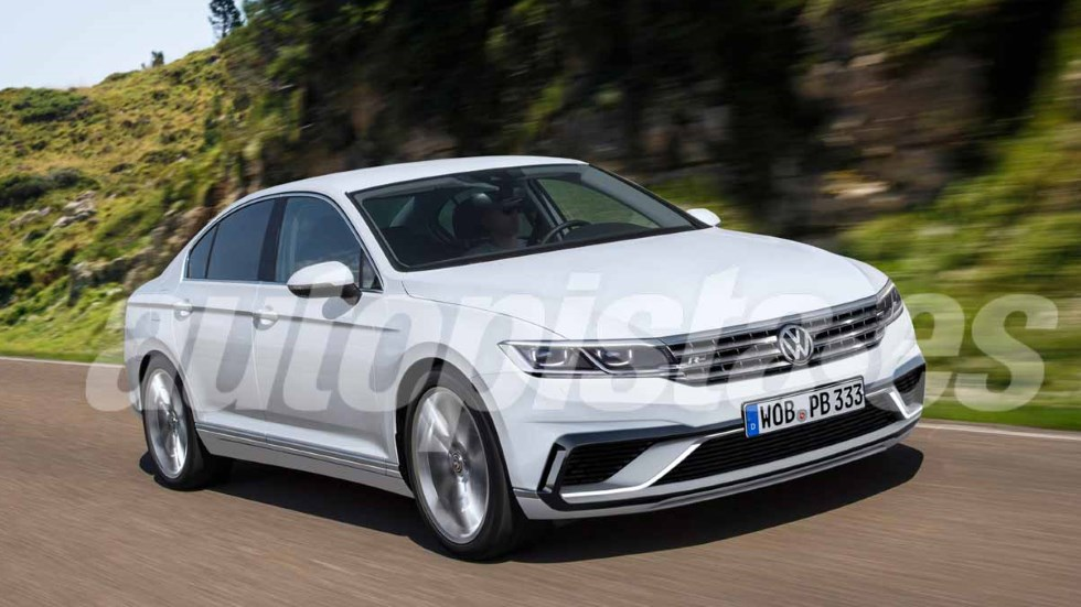 VW Passat 2019: la nueva berlina, lista para final de año