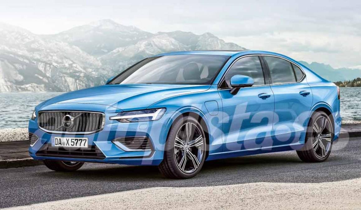 Volvo S60 2019: la nueva berlina tendrá una versión híbrida de más de 400 CV