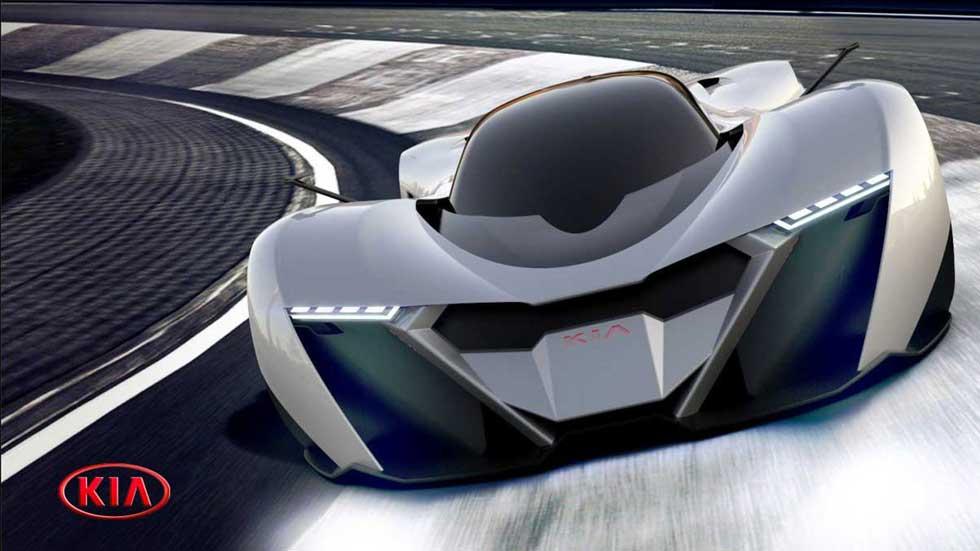 """Kia Symphony Concept: así podría ser el """"Ferrari"""" de Kia"""
