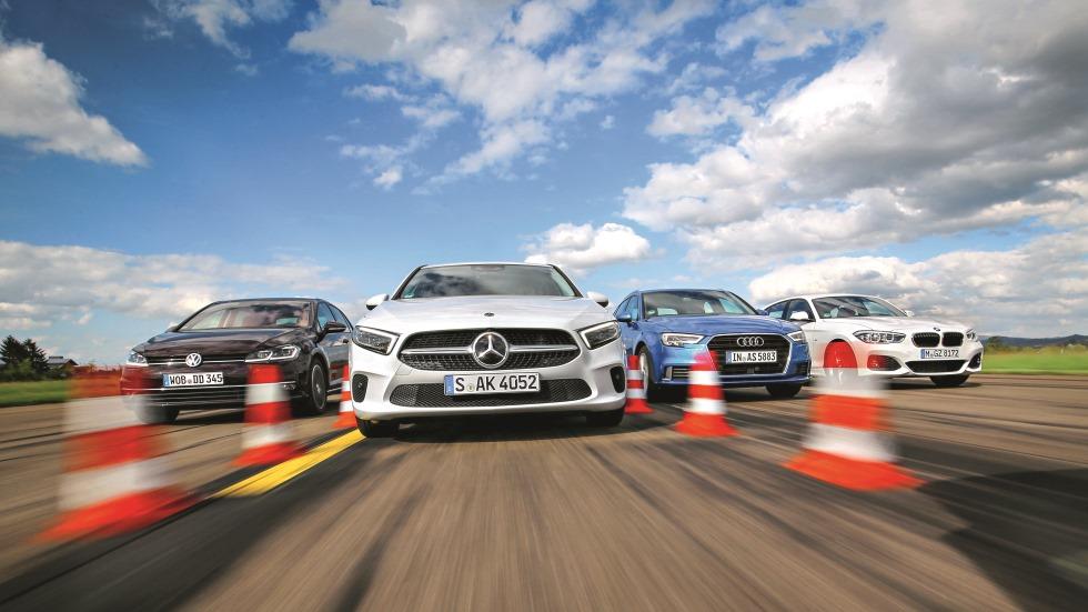 Audi A3, BMW Serie 1, Mercedes Clase A y VW Golf: ¿cuál es el mejor compacto?