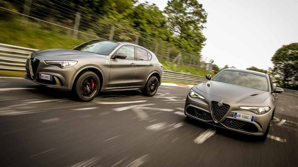 Alfa Romeo Giulia y Stelvio Quadrifoglio NRING: sólo para 216 afortunados