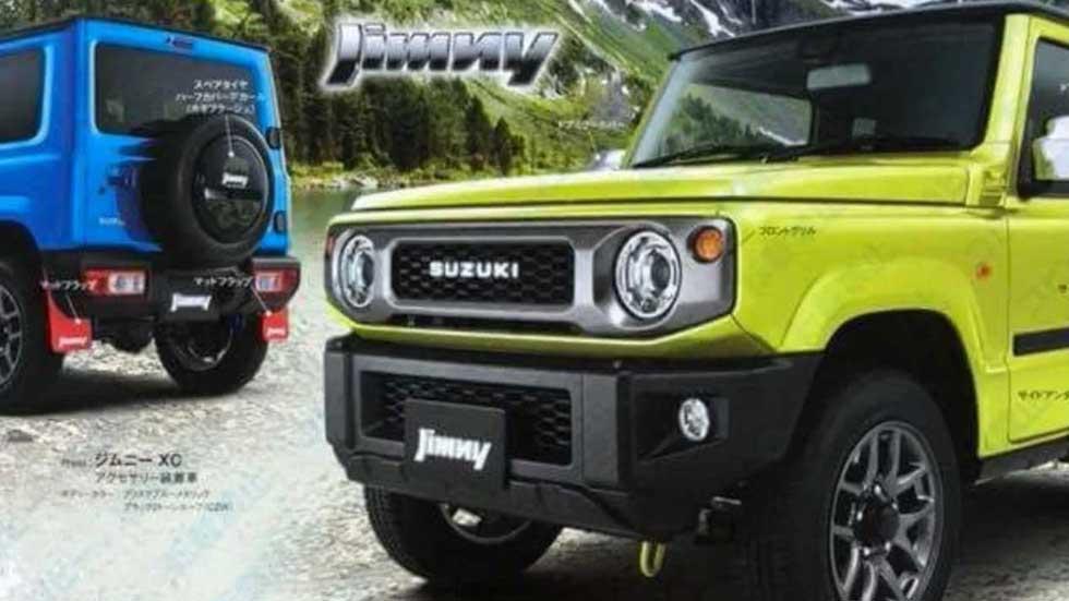 Suzuki Jimny 2019, primeras fotos y datos filtrados