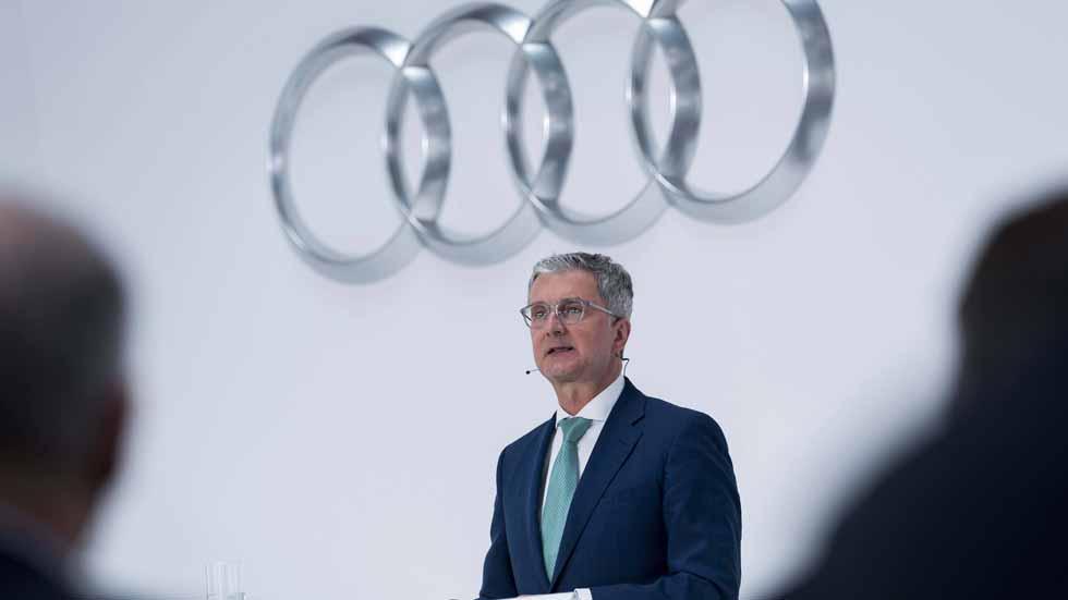 Dieselgate: detenido en Alemania el CEO de Audi, Rupert Stadler
