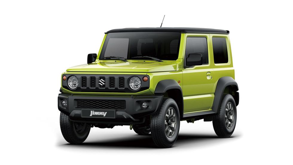 Suzuki Jimny 2019: primeros datos e imágenes oficiales
