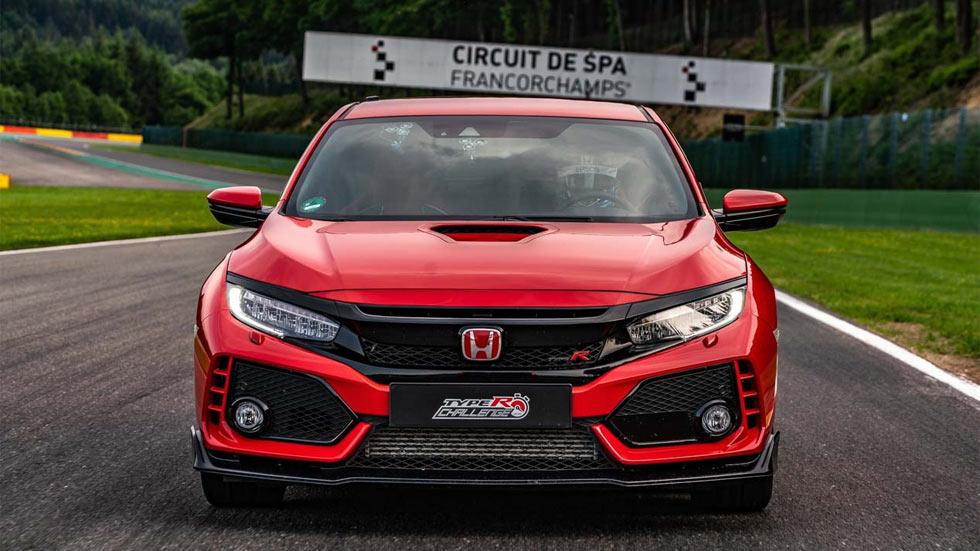 El Honda Civic Type R es un coche de récord: ahora, vuelta rápida en Spa