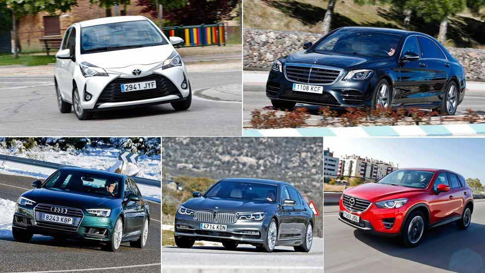 Las marcas de coches más fiables del momento, según los conductores españoles