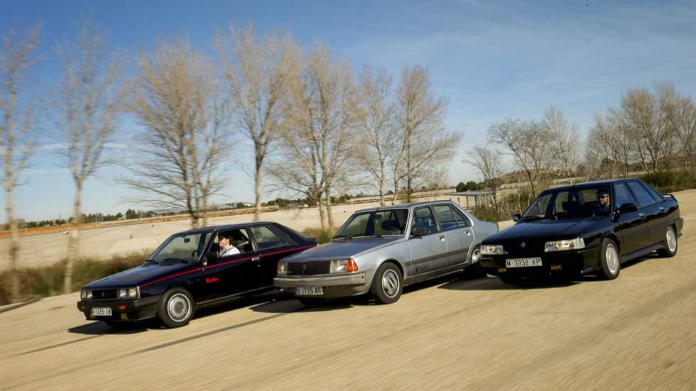 Deportivos clásicos míticos: Renault 11 Turbo, 18 Turbo y 21 Turbo