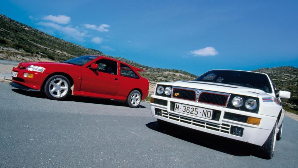 Comparativa: Ford Escort RS Cosworth vs Lancia Delta HF Integrale, ¿qué deportivo era y es mejor?