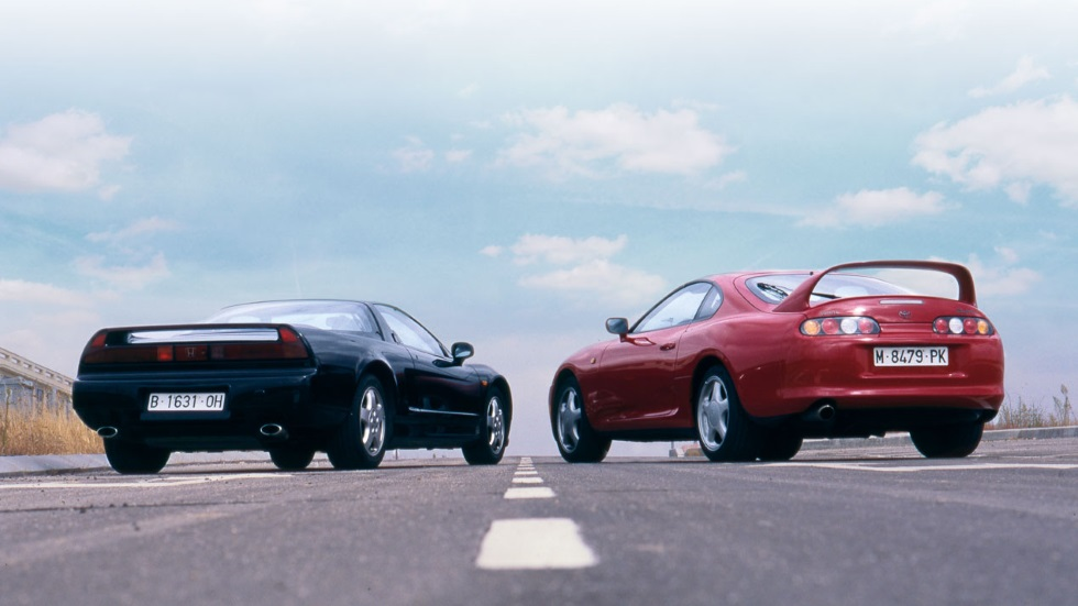Toyota Supra vs Honda NSX (comparativa original): dos deportivos míticos, frente a frente