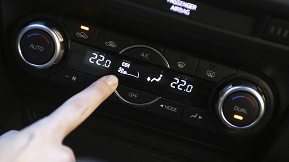 ¿Qué temperatura es la ideal para el climatizador del coche en invierno?