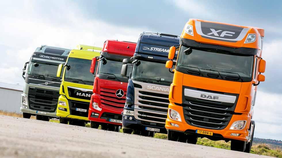 Cártel de camiones: las demandas podrían ascender a los 500 millones de euros