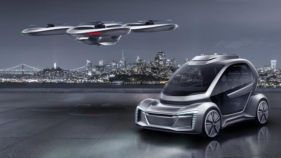 """Audi se apunta a la nueva """"moda"""" de los taxis aéreos"""