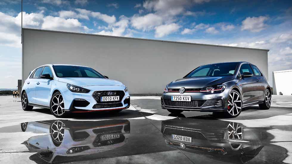 Hyundai i30 N vs VW Golf GTI Performance: dos compactos deportivos, frente a frente