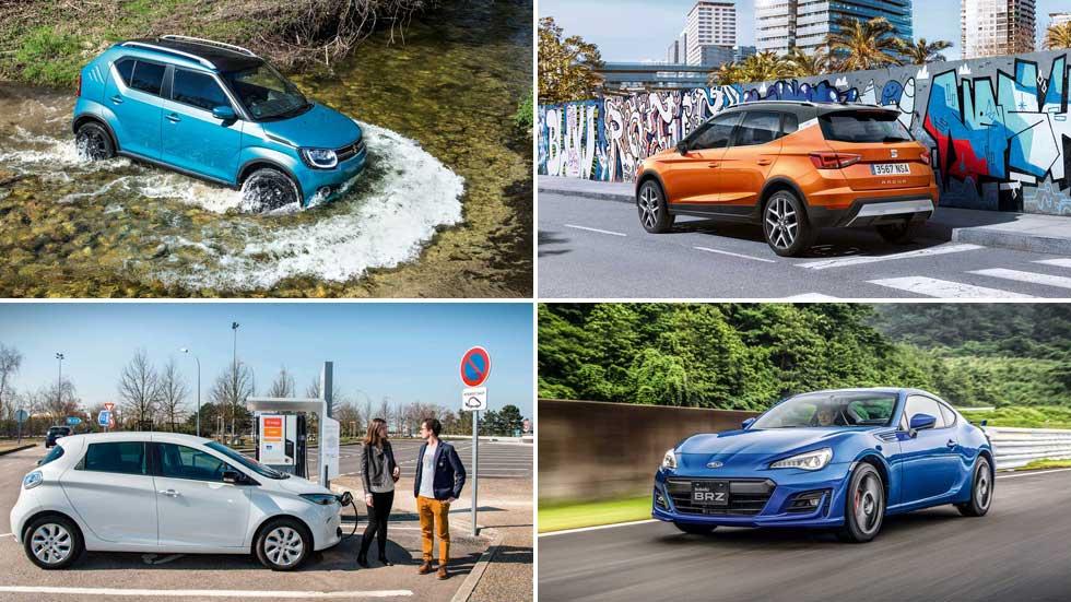 Los mejores coches para conductores jóvenes que se acaban de sacar el carné