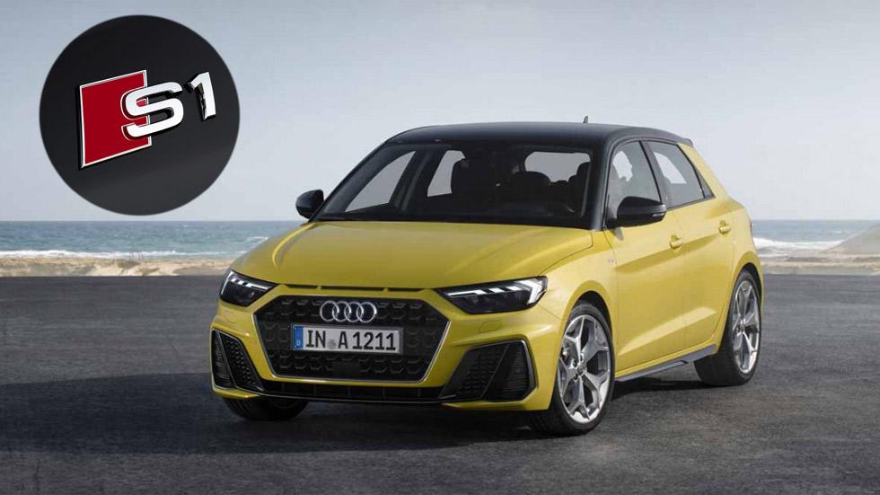 Audi S1 Sportback 2019: el A1 más potente y deportivo toma forma