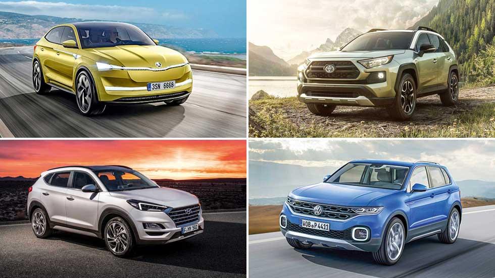 Todos los SUV que ya llegan: Tarraco, Tucson, Sportage, Kadjar, RAV4, Tiguan Coupé…