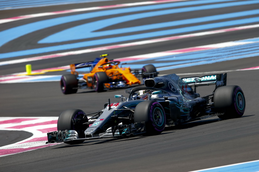 GP de Francia de F1 (FP2): Hamilton volvió a ser el más rápido