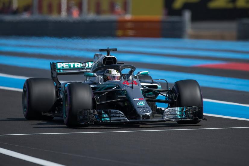 GP de Francia de F1 (Q): pole para Hamilton con doblete Mercedes