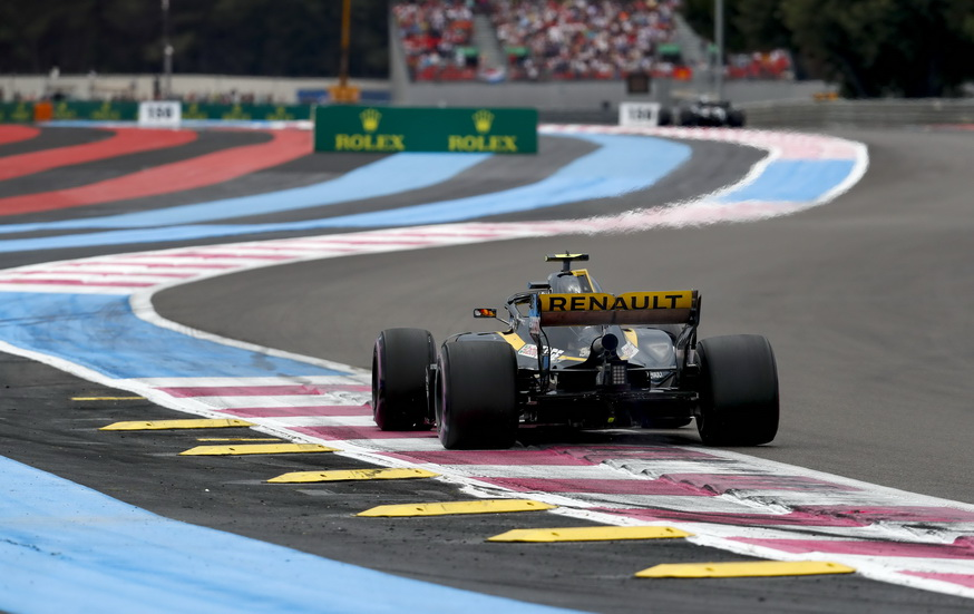 GP de Francia de F1: Sainz se clasificó octavo con problemas de motor