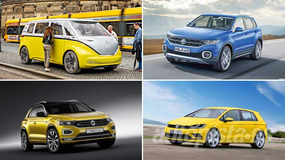 Las próximas novedades de Volkswagen hasta 2024