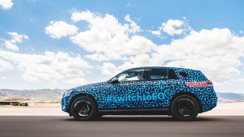 Mercedes EQC: así es el SUV 100% eléctrico, de pruebas en España