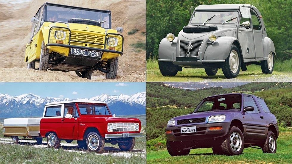 Cuando no se llamaban SUV: historia entre los coches turismo y los todoterrenos